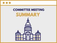 Committee Meeting Summary